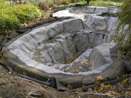 Как сделать водоём на дачном участке?
