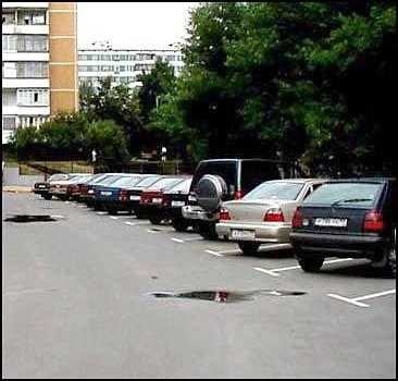 Как безопасно парковать свой автомобиль?