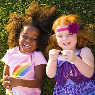 Дети смеются 300-400 раз за день