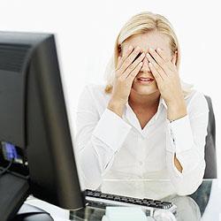 Как беречь глаза при работе за компьютером?
