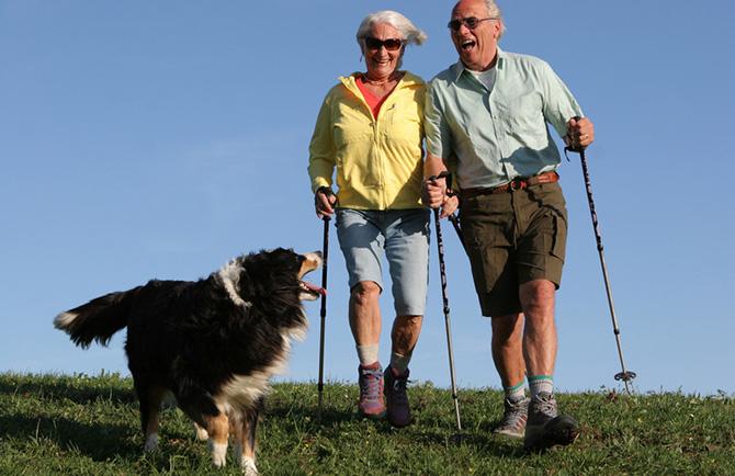 Как и для чего занимаются скандинавской ходьбой. Nordic walking