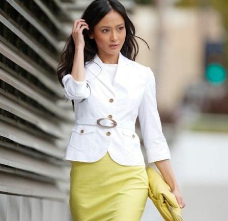 Как носить вещи белого цвета