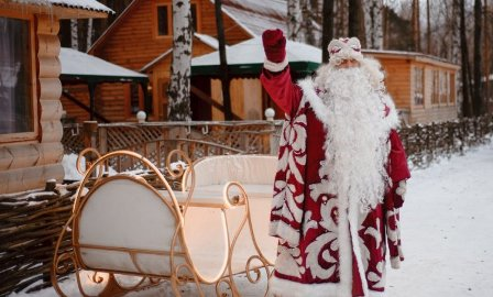 Как и где живет Дед Мороз и Снегурочка