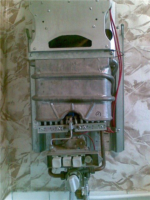 газовой колонки ВПГ-10