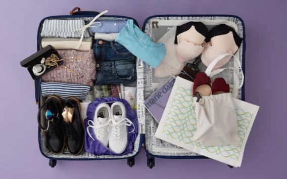 Как быстро и компактно собрать чемодан в дорогу