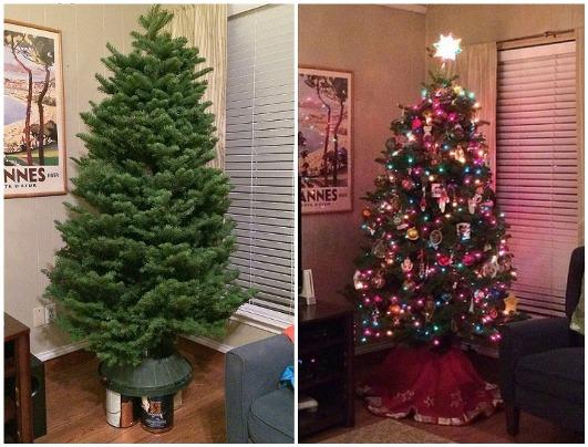 Как улучшить внешний вид искусственной елки