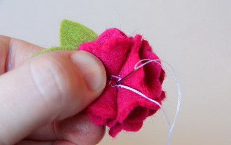 Как сделать украшения для волос из фетра?
