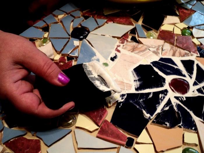 Как использовать остатки кафельной плитки от ремонта