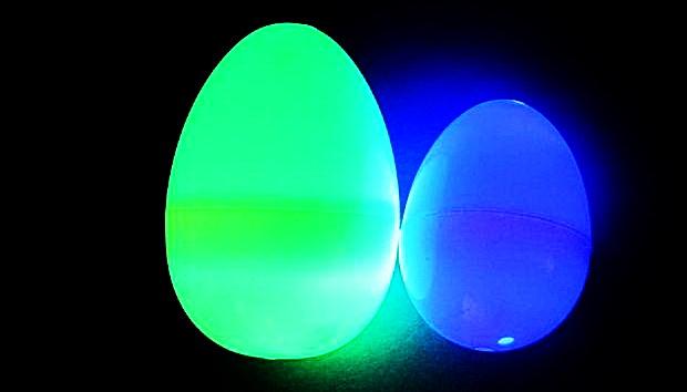 Как сделать оригинальное пасхальное яйцо, которое светится в темноте