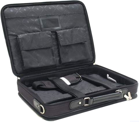 Сумка для ноутбука Continent 13.3' Computer Bag (CC115) нейлон, черная.