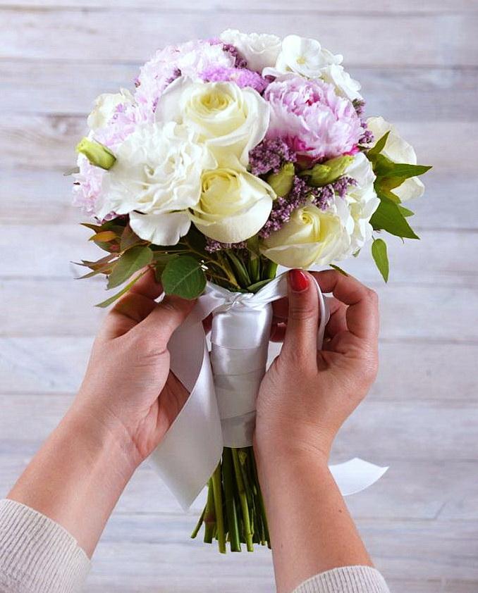 Составить самому букет невесты, красивого букета роз