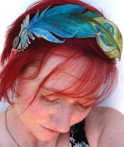 Как сделать необычное украшение для волос
