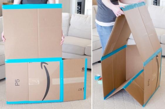 Как найти новое применение обычной картонной коробке