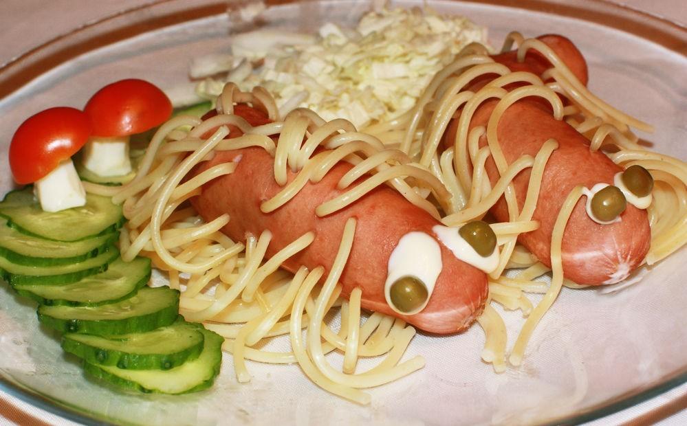 Как украшать детские блюда. Часть 1