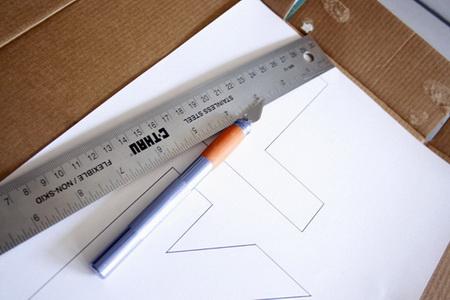 Как сделать объемные буквы с подсветкой?