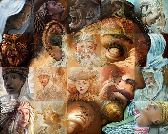 Как составляют мозаичные картины из фотографий