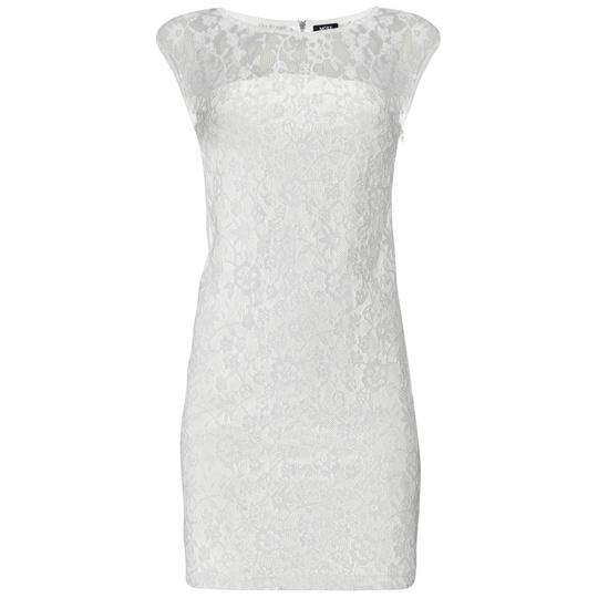 платья MEXX кружевное белое