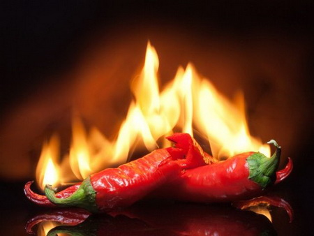 Как успокоить ожог от острого перца во рту?