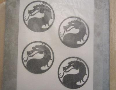 Как сделать печенье с эмблемой Mortal Kombat