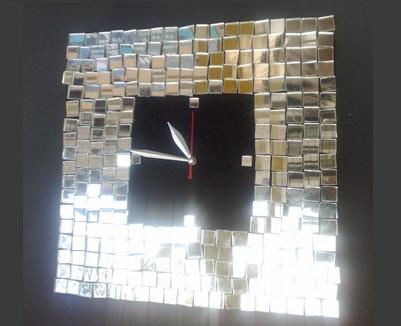 Как креативно использовать осколки зеркала