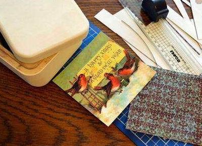 Как сделать винтажную шкатулку