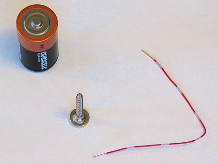 Как сделать простейший электродвигатель?