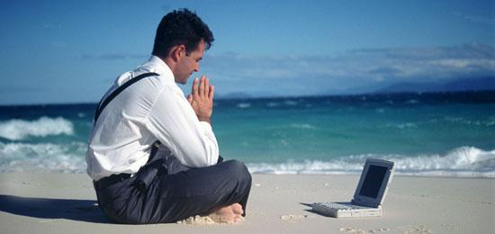 Как совместить бизнес с отдыхом?