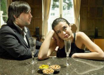 ресторан вечерние наряды девушке невообразимо скучен собеседник
