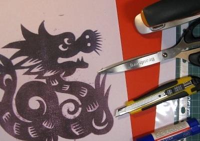 Как сделать китайское вырезание из бумаги