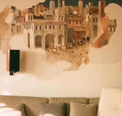 Как сделать фреску у себя дома