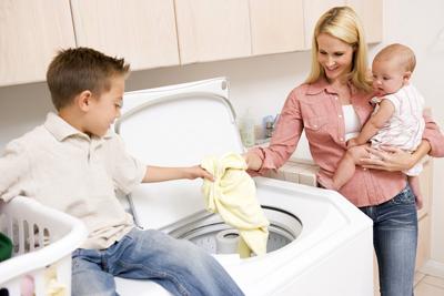 Как выбрать стиральный порошок для детского белья
