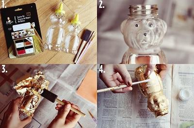 Как сделать необычную вазу