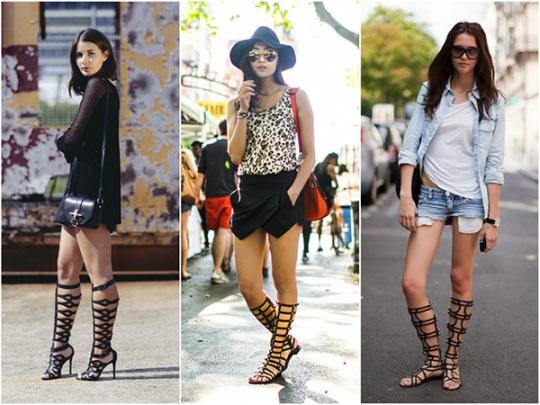 Как выбрать и с чем носить модные босоножки и сандалии