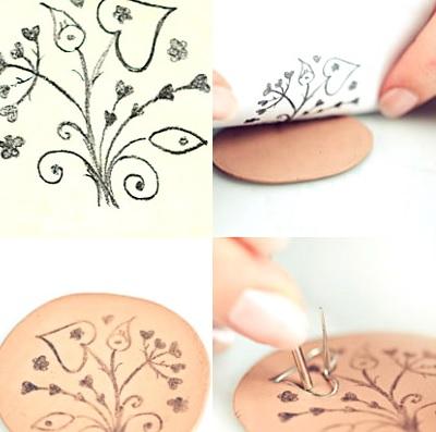 Как сделать простые украшения из полимерной глины