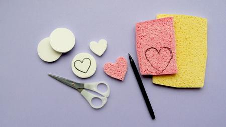 Как нарисовать простую валентинку вместе с детьми?