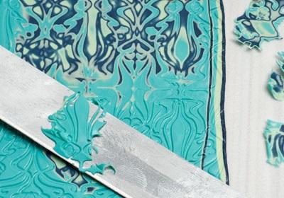 Как сделать из полимерной глины орнамент в технике мокуме гане
