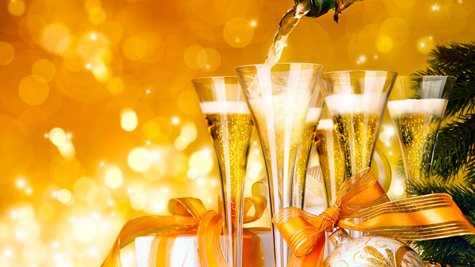 Новогоднее шампанское: как украсить бутылку на Новый год 2019 своими руками? новые фото
