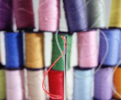 Как выбрать нити и иглы для шитья