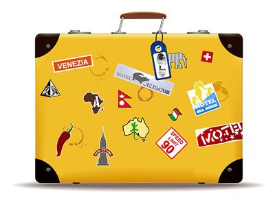 Рекомендуется как-то надежно и заметно пометить свой чемодан ...