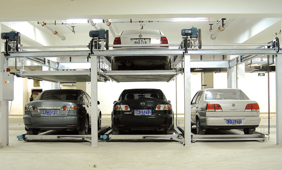Как работают системы многоуровневых парковок?
