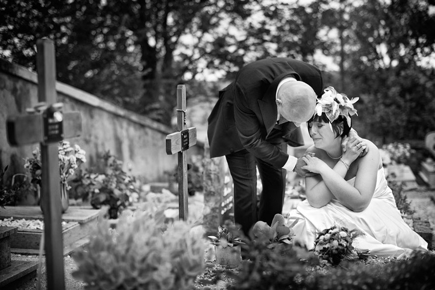 Свадебные снимки-лауреаты фотонаград 2014 г.: чувства