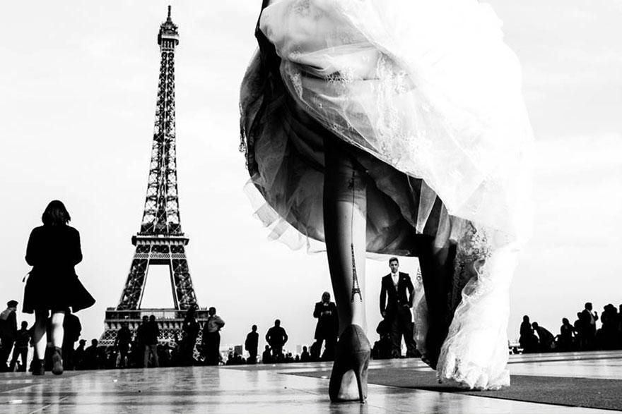 Свадебные снимки-лауреаты фотонаград 2014 г.: обрамление объекта