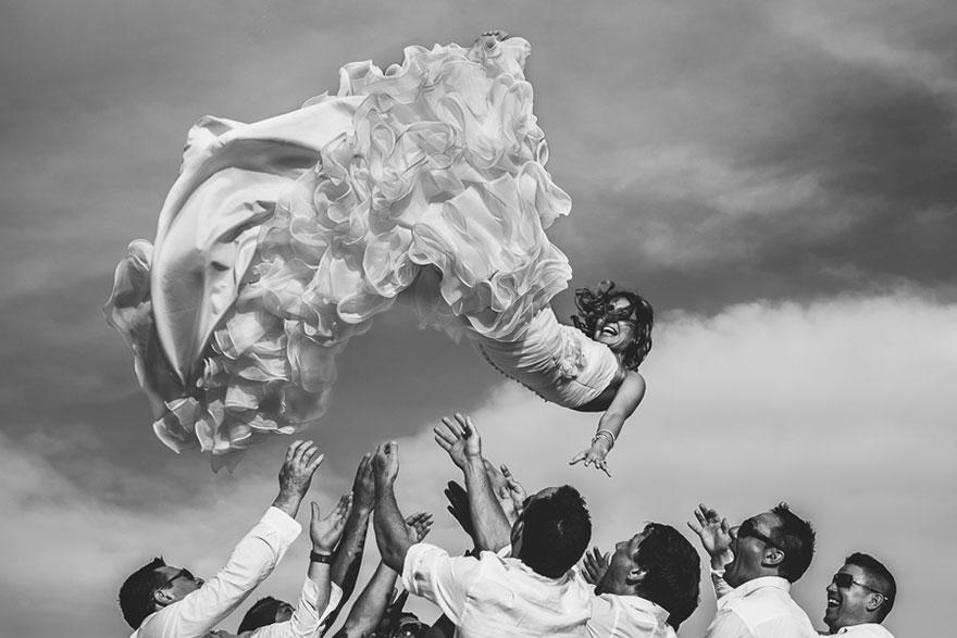 Свадебные снимки-лауреаты фотонаград 2014 г.: ключевой момент