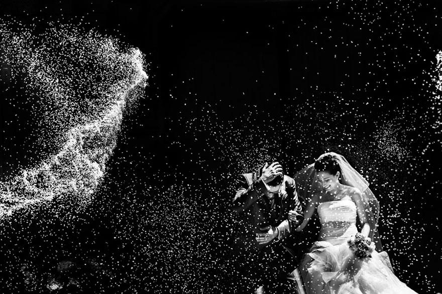Свадебные снимки-лауреаты фотонаград 2014 г.: церемония