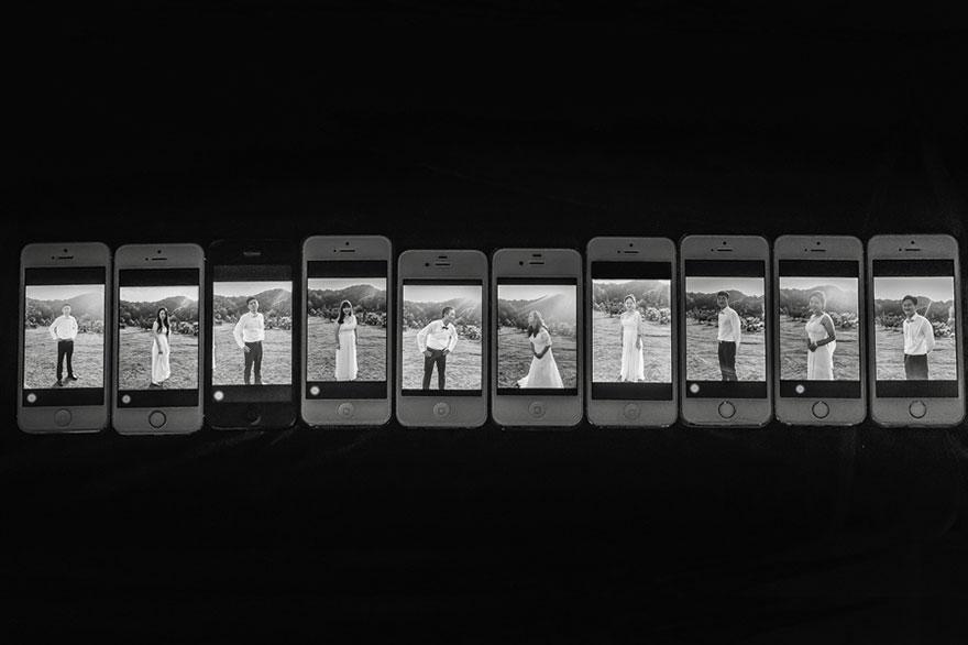 Свадебные снимки-лауреаты фотонаград 2014 г.: портрет со свадебной вечеринки