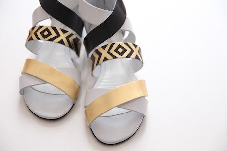 модные сандалии своими руками: в стиле арт-деко и Гетсби