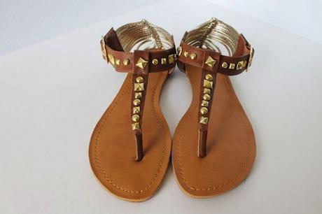 модные сандалии лета 2014 своими руками: Шипованные сандалии