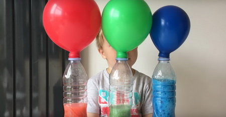 Как развлечь детей дома необычными опытами? Часть 1.