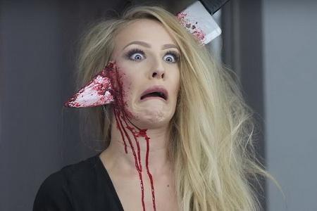 Как сделать ужасный грим на Хэллоуин?