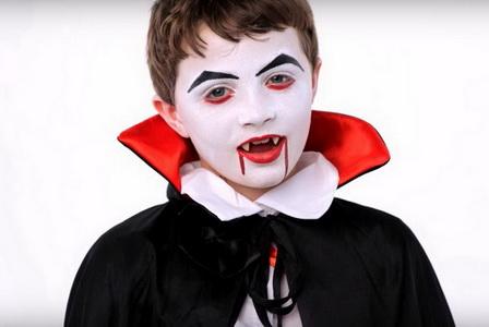 Как сделать детский макияж на Хэллоуин?